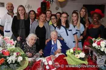 """Allauch : deux centenaires fêtées à la résidence """"La Provence"""" - La Provence"""