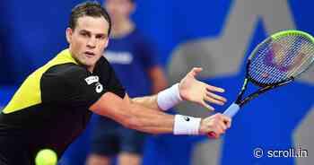 Tennis: Vasek Pospisil stuns top seed Daniil Medvedev, Roberto Bautista Agut out at Rotterdam - Scroll.in
