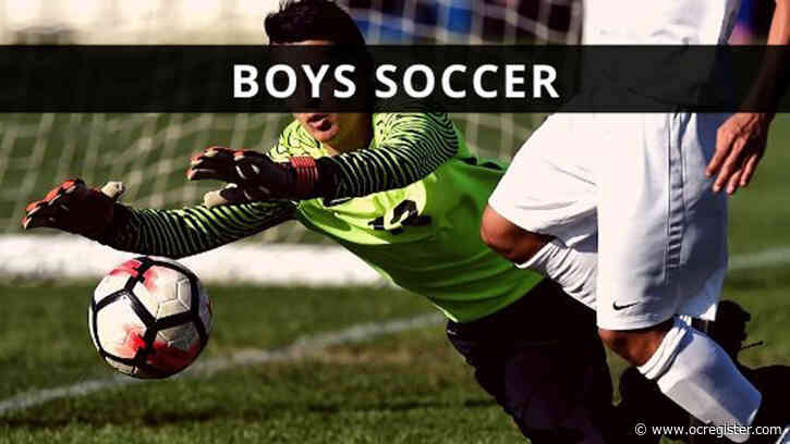 CIF-SS boys soccer playoffs: Friday's scores, updated schedule