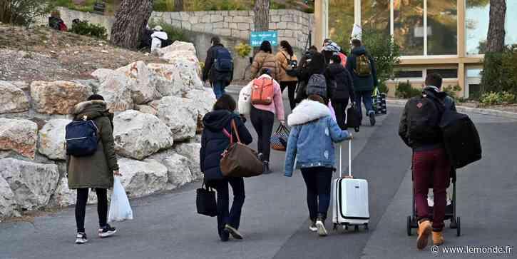 A Carry-le-Rouet, les rapatriés de Wuhan en Chine « libérés » après leur quarantaine - Le Monde
