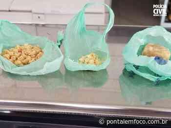 Monte Alegre de Minas: PCMG prende suspeito de tráfico e de chefiar grupo em roubos na cidade - Pontal Emfoco
