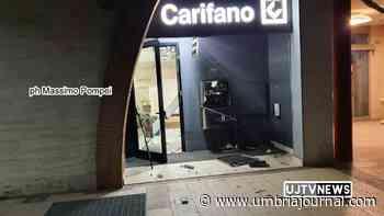Colpo alla Carifano, Ponte Felcino Perugia, esplode bancomat nella notte - Umbria Journal il sito degli umbri
