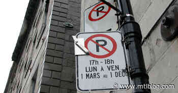 Ville-Marie Is Raising Parking Permit Prices For Some Vehicles To Reduce Traffic Downtown - MTL Blog