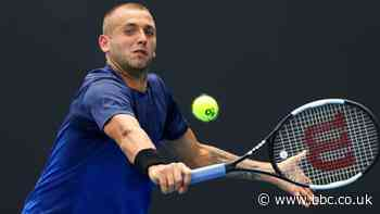 Rotterdam Open: Dan Evans beaten in quarter-finals by Gael Monfils