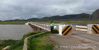 Advierten que el río Ayaviri está cerca de desbordar - Los Andes Perú