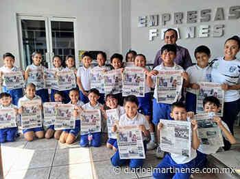 El Colegio Villa Rica, de visita en El Heraldo de Martínez - Diario el Martinense