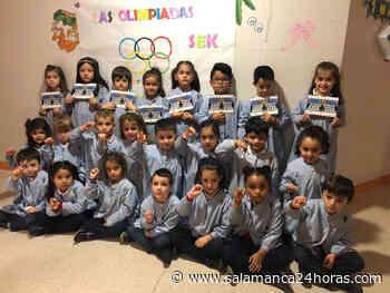 El Real Madrid escribe una carta a los alumnos del San Estanislao de Kostka y les envía regalos - Salamanca 24 Horas