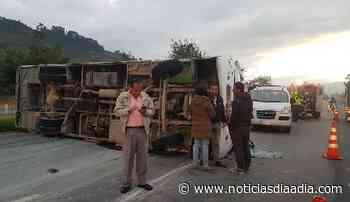 Aparatoso accidente en Briceño,... - Noticias Día a Día