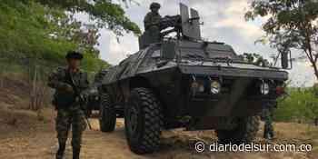 Nariño se refuerza ante anuncio de paro armado - Diario del Sur