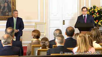 Francisco Barbosa se posesionó este jueves en la Casa de Nariño como nuevo fiscal general de la Nación - Minuto30.com