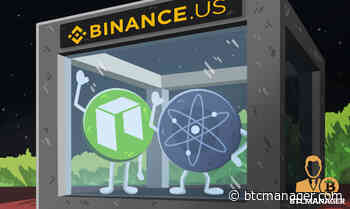 Binance.US Users Can Now Trade NEO (NEO) and Cosmos (ATOM) - BTCMANAGER