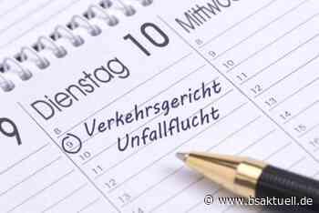 Mertingen: Nach Unfall geflüchteten Autofahrer ermittelt - BSAktuell
