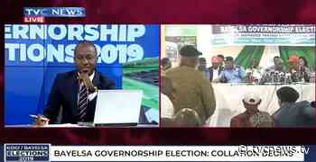 #KOBA2019: Collation of Bayelsa Gov Election results begins in Yenagoa - TVC News