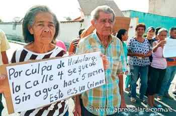 Comunidades de Cabudare tienen 5 meses sin agua - La Prensa de Lara