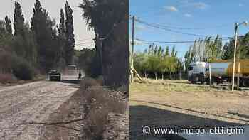 Camión petrolero dejó sin luz a parte de la Isla Jordán - LMCipolletti.com