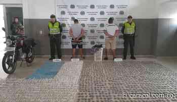 Capturan dos hombres con 5 mil dosis de drogas - Caracol Radio