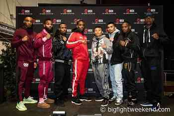 Mattice-Cruz, ShoBox Final Weights and Quotes - Big Fight Weekend