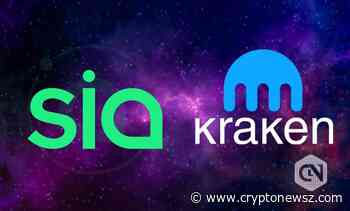 Kraken Crypto Exchange to List Digital Token Siacoin (SC) - CryptoNewsZ