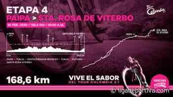Tour Colombia: Previo Etapa 4 / Paipa – Santa Rosa de Viterbo - Ciclismo - Liga Deportiva Postobón