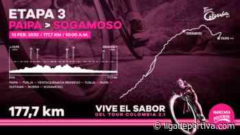 Tour Colombia: Previo Etapa 3 / Paipa – Sogamoso - Ciclismo - Liga Deportiva Postobón