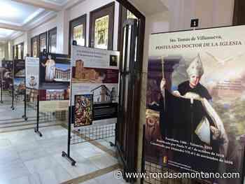 La exposición sobre Santo Tomás de Villanueva y los agustinos - Ronda Somontano
