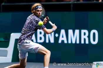 ATP Rotterdam: Andrey Rublev shines again. Stefanos Tsitsipas, David Goffin bow out - Tennis World USA