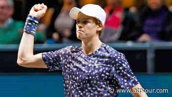Jannik Sinner Beats David Goffin In Rotterdam - ABN AMRO World Tennis Tournament, Rotterdam 2020 - ATP Tour