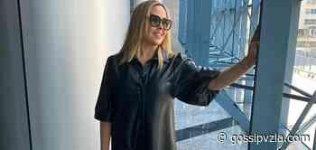 ¿REGRESARÁ A LA TV?- Sandra Villanueva reaparece en los pasillos de Televen - gossipvzla