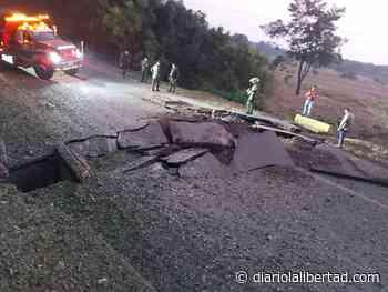 Activan artefacto explosivo en vía Tibú - Diario La Libertad