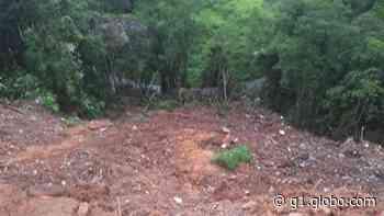 Estrada do Paiol, em Ferraz de Vasconcelos, é interditada após deslizamentos - G1