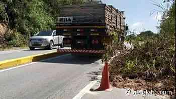 DER monitora trechos de queda de barreiras na Mogi-Guararema - G1