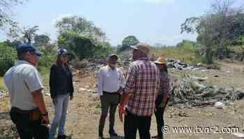 Inspeccionan estado de vertederos en distrito de Pocrí de Los Santos - TVN Panamá