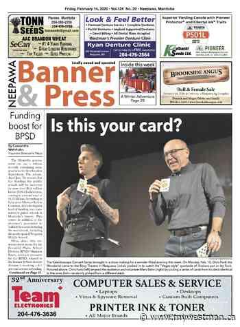 Friday, February 14, 2020 Neepawa Banner & Press - myWestman.ca