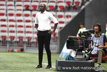 """Nice : Vieira : """"J'ai du mal à comprendre notre performance"""""""