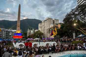 Alcalde Duque inauguró monumento turístico en la plaza Francia de Altamira - El Universal (Venezuela)