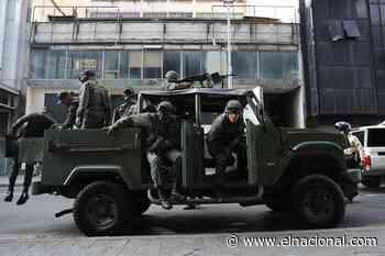Cerrado el acceso al Distribuidor Altamira por ejercicios militares del régimen - El Nacional