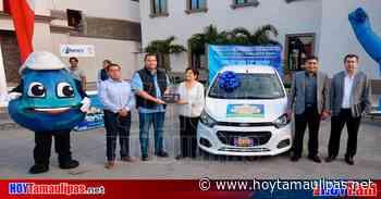 """En Altamira: Entregan automóvil a ganadora del sorteo """"Pagando Vas Ganando 2020'' - Hoy Tamaulipas"""