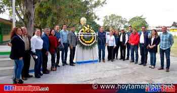 En Altamira: Conmemoran 189 aniversario luctuoso de Vicente Guerrero - Hoy Tamaulipas