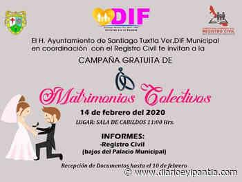 Campaña de Matrimonios Colectivos en Santiago Tuxtla - Diario Eyipantla