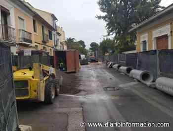 Arrancan las obras de saneamiento en la calle San Antonio de Sant Joan - Información