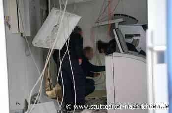 Plochingen - Unbekannte sprengen Geldautomaten - Stuttgarter Nachrichten