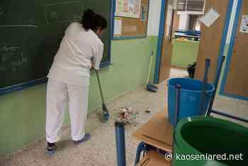 La realidad de las limpiadoras en Andalucía: sin uniformes, sin nómina y sin productos de limpieza - kaosenlared.net