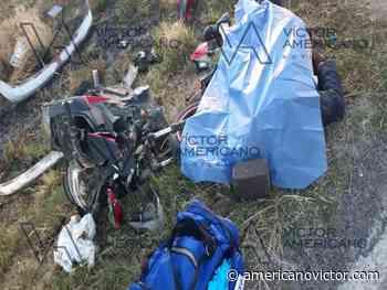 Motociclista muere al accidentarse en Vista Hermosa - www.americanovictor.com