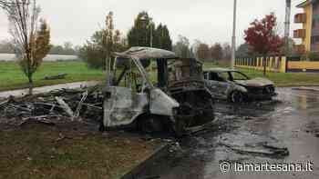 Nuova auto in fiamme a Cernusco sul Naviglio - La Martesana