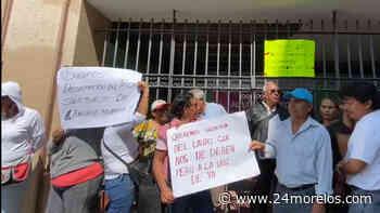 Toman instalaciones del TECA extrabajadores de Tepalcingo - 24 Morelos