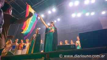 Pía Zoe Vega, la primera chica trans elegida como virreina en una Fiesta de la Vendimia - Diario Uno