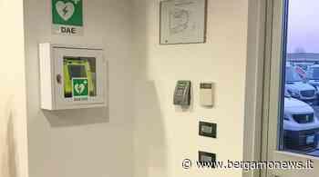 Sicurezza, un nuovo defibrillatore semiautomatico alla Elevo di Lallio - BergamoNews.it