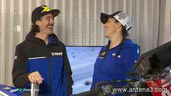 Sara García y Javier Vega, la pareja del Dakar, un amor sobre ruedas - Antena 3 Noticias