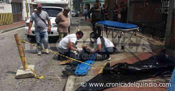 Habitante de calle murió en el interior de una ambulancia, en Calarcá - La Cronica del Quindio