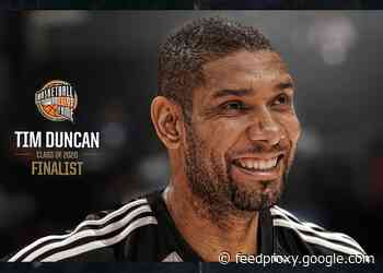 Tim Duncan Among Eight Finalists for Naismith Memorial Basketball Hall of Fame Class of 2020 Election